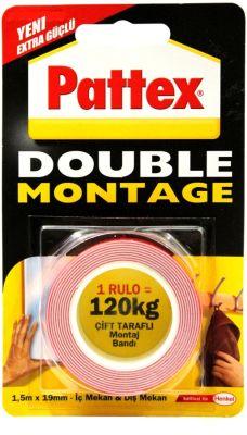 Henkel Pattex Double Montage 19mmx1.5m 120kg