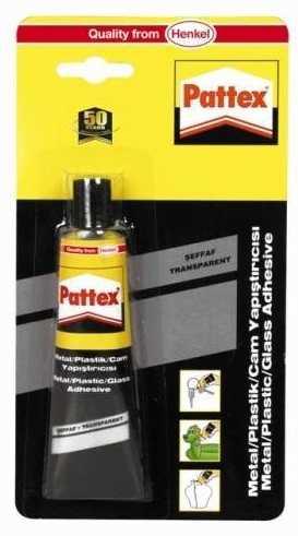 Henkel Pattex Metal Plastik Cam Yapıştırıcı Şeffaf 50gr