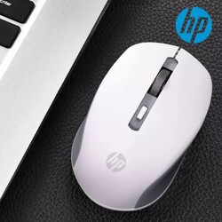 Hp - Hp S1000 Kablosuz Wireless Sessiz Mouse Beyaz