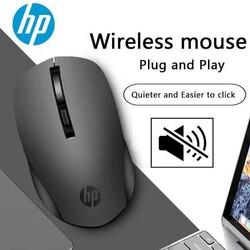 Hp - Hp S1000 Kablosuz Wireless Sessiz Mouse Siyah