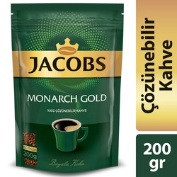 Jacobs - Jacobs Monarch Gold Kahve 200 gr
