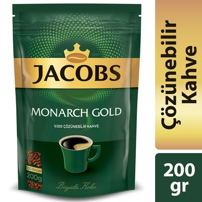 Jacobs Monarch Gold Kahve 200 gr