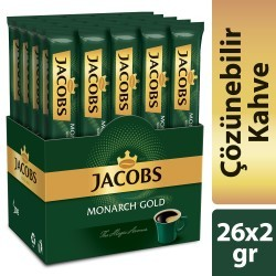 Jacobs Monarch Stick Kahve 2gr 26lı - Thumbnail