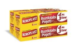 Koroplast - Koroplast Buzdolabı Poşeti Büyük Boy 4 Al 3 Öde
