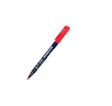 Kraf Asetat Kalemi Kırmızı