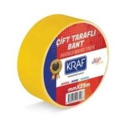 KRAF - Kraf Bant Çift Taraflı 19mmx25m