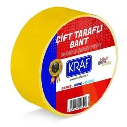 KRAF - Kraf Çift Taraflı Bant 25x25