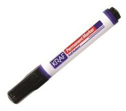 KRAF - Kraf Permanent Koli Kalemi Yuvarlak Uç Siyah
