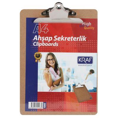 Kraf Sekreterlik Ahşap A4 1060