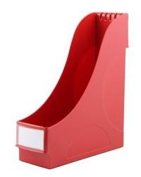 Kraf - Kraf Sert Plastik Magazinlik Kırmızı
