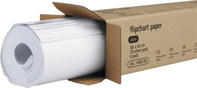 Legamaster Çizgisiz Flipchart Kağıt Yedeği 98cmx65cm 100yp