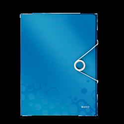 Leitz - Leitz Active Wow Çok İşlevli Dosya Metalik Mavi