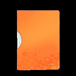 LEITZ - Leitz Active Wow Colorclip Dosya Metalik Turuncu