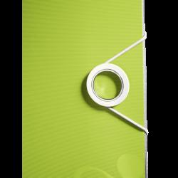 Leitz Active Wow Geniş Klasör Metalik Yeşil - Thumbnail