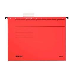 Leitz - Leitz Askılı Dosya Kırmızı L-6515