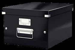 LEITZ - Leitz Click Store Küp Orta Saklama Kutusu Metalik Siyah