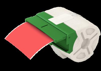 Leitz Icon Kırmızı Plastik Şerit Etiket 88mmx10m 70160025