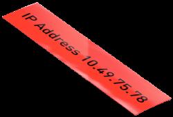 Leitz Icon Kırmızı Plastik Şerit Etiket 88mmx10m 70160025 - Thumbnail