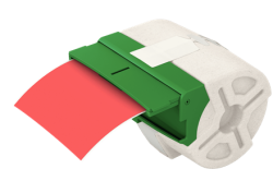 LEITZ - Leitz Icon Kırmızı Plastik Şerit Etiket 88mmx10m 70160025