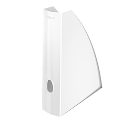 Leitz - Leitz Magazinlik Wow Plastik Beyaz 5277
