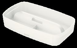 Leitz - Leitz MyBox Kulplu Geniş Düzenleme Aparatı Beyaz 5323