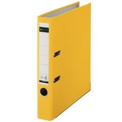 LEITZ - Leitz Plastik Klasör Dar Sarı