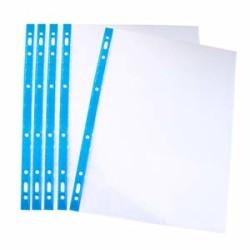 LEITZ - Leitz Poşet Dosya Kristal Mavi 100 lü 4700