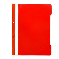 Leitz - Leitz Telli Dosya Kırmızı 50li