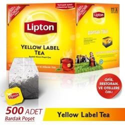 Lipton - Lipton Yellow Label Bardak Poşet Çay 500lü