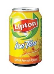 LİPTON - Lipton Ice Tea Kutu Şeftali 330cc 24lü