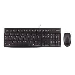 Logitech - Logitech MK120 Kablolu Klavye Mouse Set