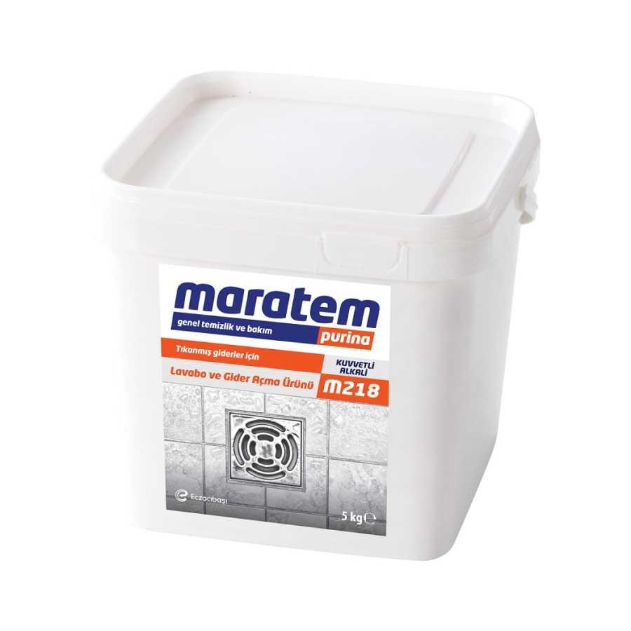 Maratem M218 Lavabo ve Gider Açma Ürünü 5kg