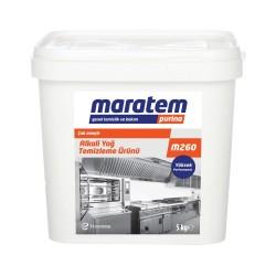 Maratem - Maratem M260 Alkali Yağ Temizleme Ürünü 5kg