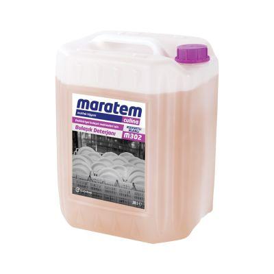 Maratem M302 Endüstriyel Bulaşık Makineleri İçin Bulaşık Deterjanı 20lt