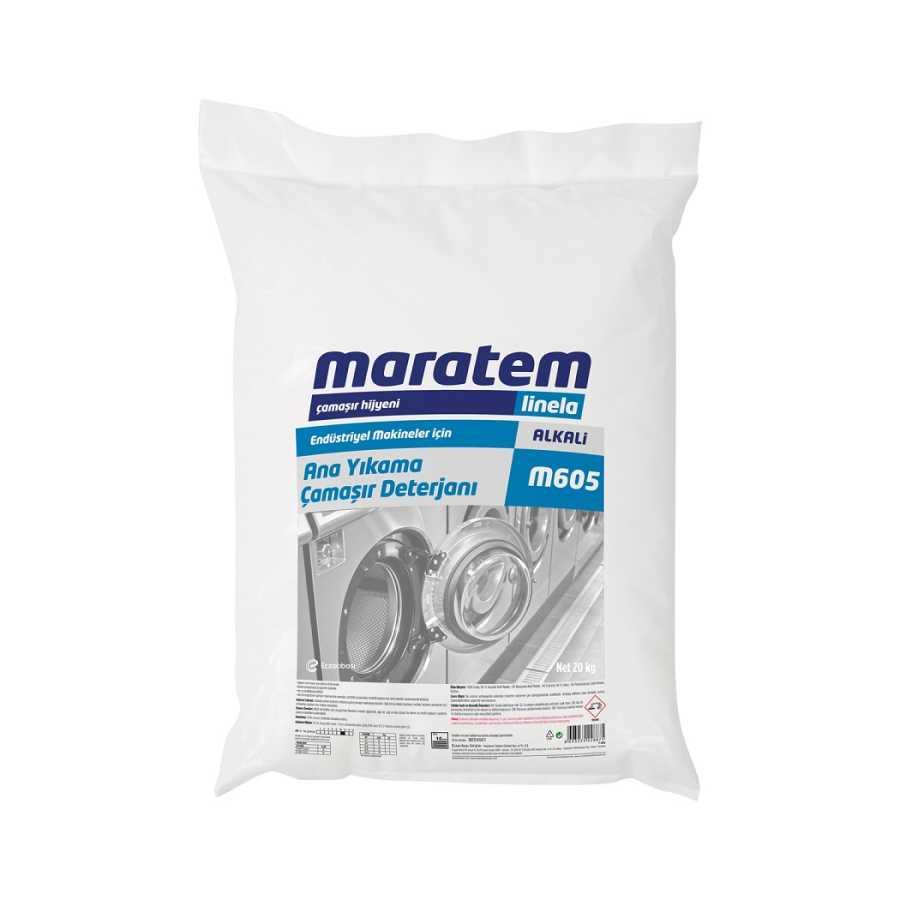 Maratem M605 Ana Yıkama Çamaşır Deterjanı 20kg