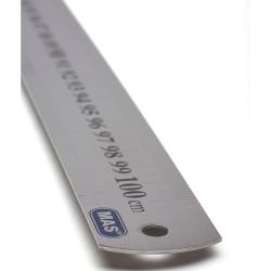 Mas Çelik Cetvel 100cm - Thumbnail