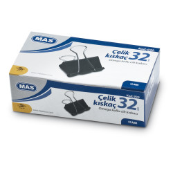 MAS - Mas Çelik Kıskaç 32mm 12li