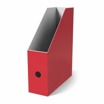 Mas Karton Kutu Magazinlik Kırmızı 4lü