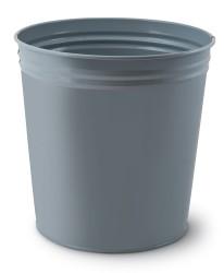 Mas - Mas Tam Kapalı Çöp Kovası Gri