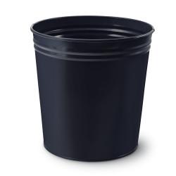 Mas - Mas Tam Kapalı Çöp Kovası Siyah