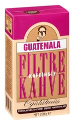 Mehmet Efendi - Mehmet Efendi Guatemala Kafeinsiz Filtre Kahve 250 gr