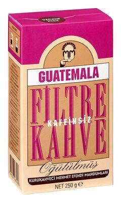 Mehmet Efendi Guatemala Kafeinsiz Filtre Kahve 250 gr