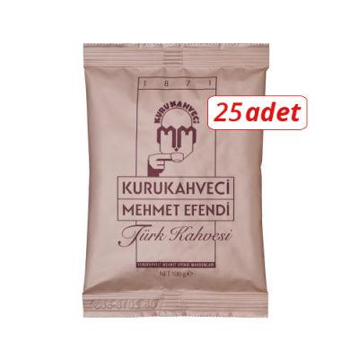 Mehmet Efendi Türk Kahvesi 100 gr 25li
