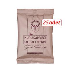MEHMET EFENDİ - Mehmet Efendi Türk Kahvesi 100gr 25li