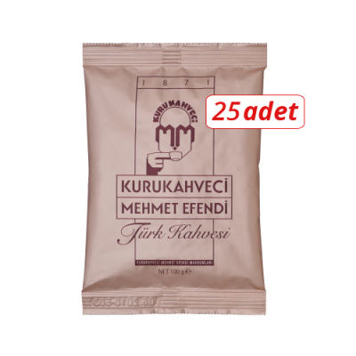 Mehmet Efendi Türk Kahvesi 100gr 25li