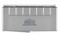 Mission - Mission Suluboya Silver Tablet Pıgment 12li 5012