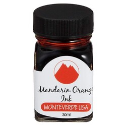 Monteverde - Monteverde Şişe Mürekkep 30ml Mandarin Orange G309MO