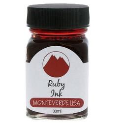 Monteverde - Monteverde Şişe Mürekkep 30ml Ruby G309RU