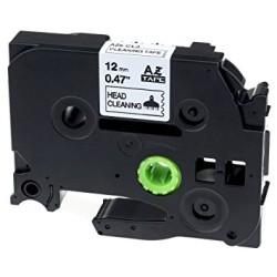 ETİKETİM - Muadi P-Touch 12AZE731 Yeşil-Siyah TZ-tape 12mm