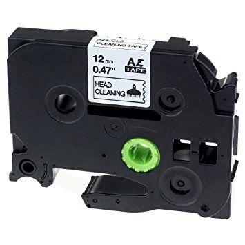 Muadil P-Touch 24AZE751 Yeşil-Siyah TZ-tape 24mm
